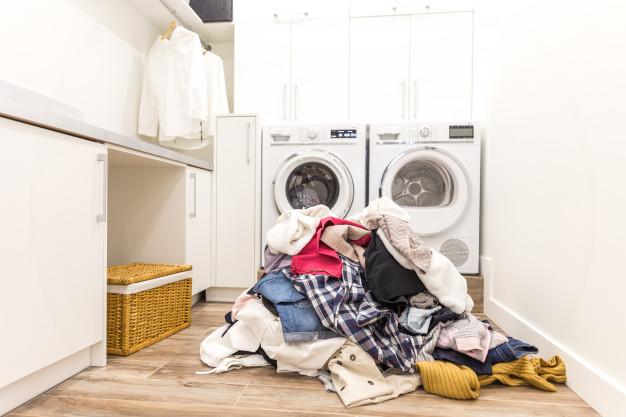 La zona de lavandería perfecta